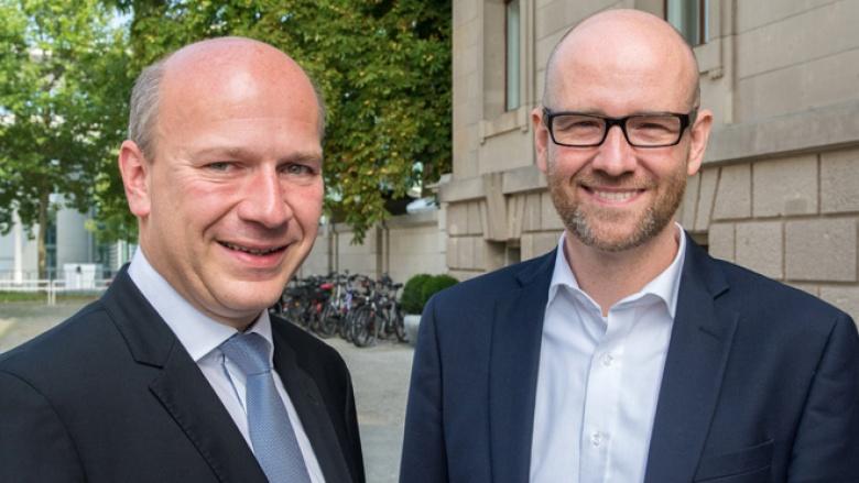 Peter Tauber und Kai Wegner im Gespräch über die Großstädte