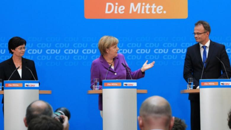 Merkel: Deutliches Plus für die CDU
