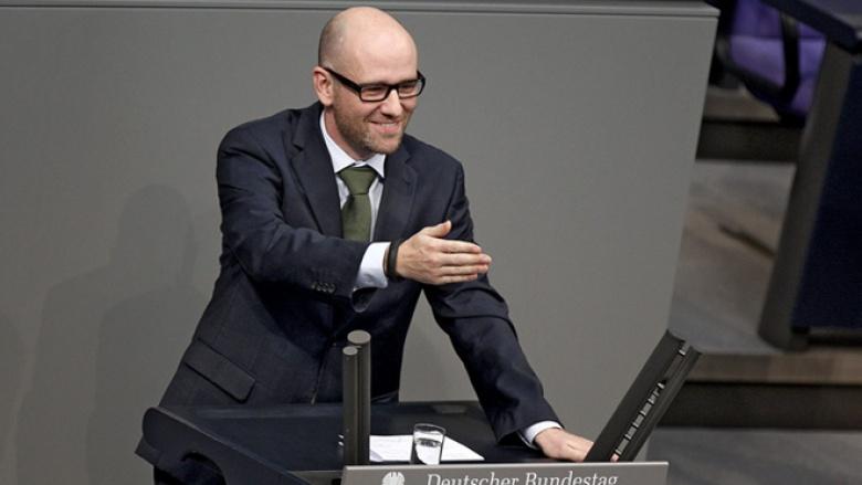 CDU-Generalsekretär Peter Tauber spricht im Bundestag zur Digitalen Agenda.