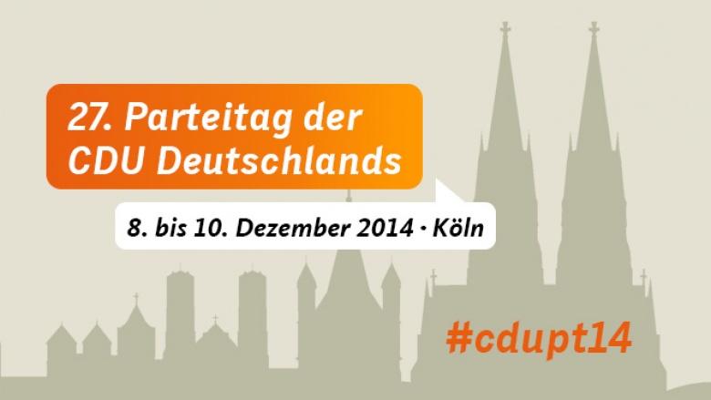 Alle Infos zum 27. Parteitag der CDU Deutschlands