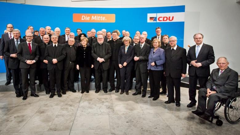 Spitzengespräch von CDU und Deutscher Bischofskonferenz