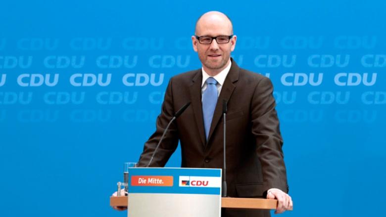 Pressekonferenz mit CDU-Generalsekretär Peter Tauber