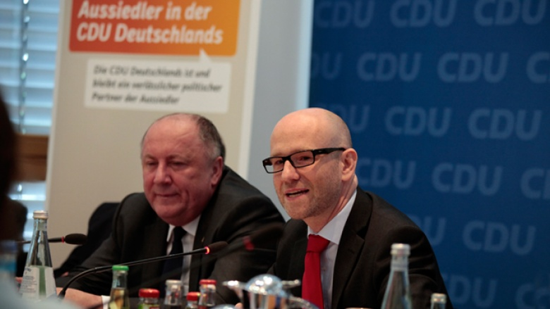 Peter Tauber und Heinrich Zertik