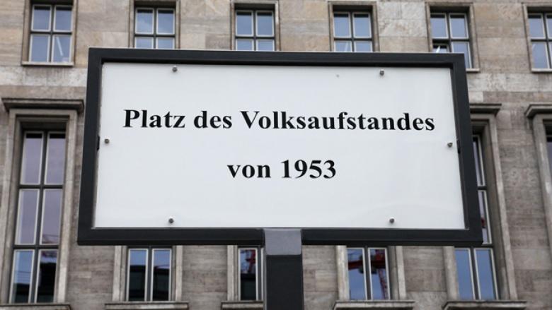 Platz des Volksaufstandes von 1953 in Berlin