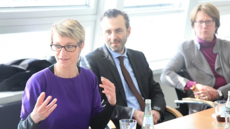 Nadine Schön, Thomas Jarzombek und Karin Wolff leiten das Netzwerk Digitalisierung.
