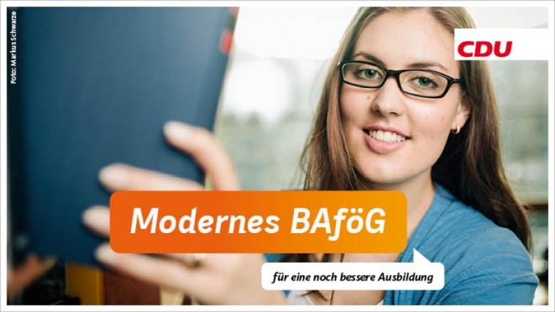 Modernes BAföG für eine noch bessere Ausbildung