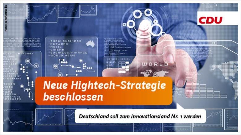 Neue Hightech-Strategie