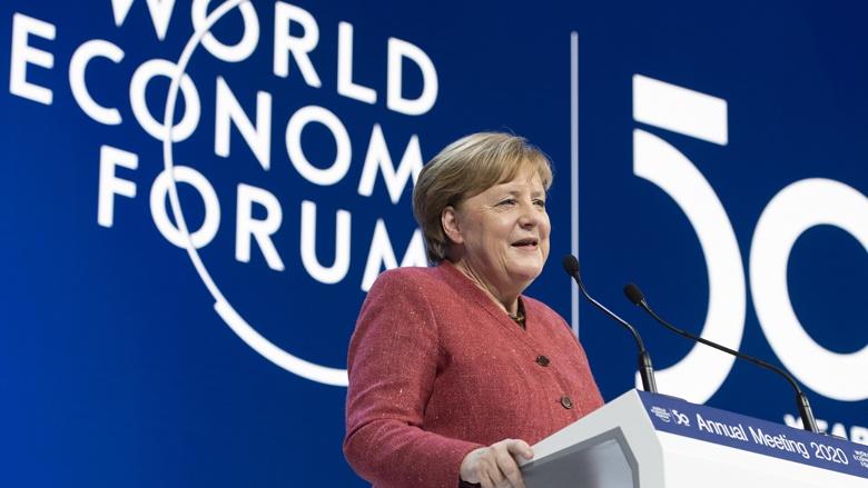Angela Merkel in Davos: Ein entscheidendes Jahrzehnt für Europa