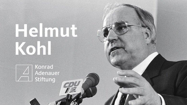 Wirken von Helmut Kohl (KAS)