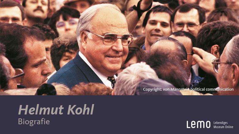 Lebenslauf Helmut Kohl (Haus der Geschichte)