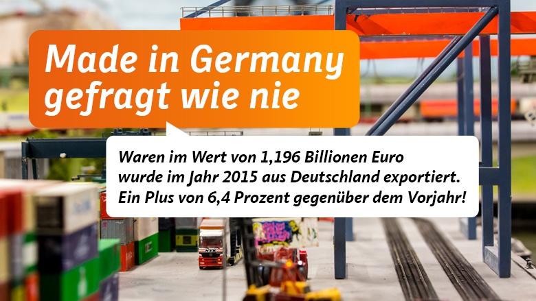 Made in Germany gefragt wie nie