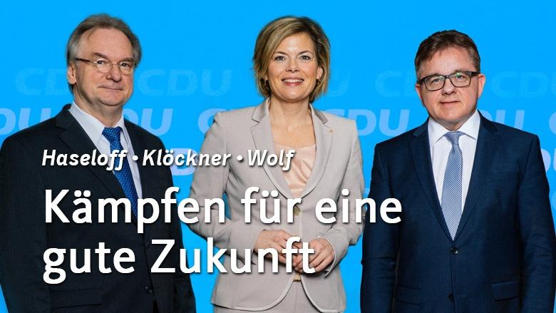 Am Sonntag alle Stimmen für die CDU!