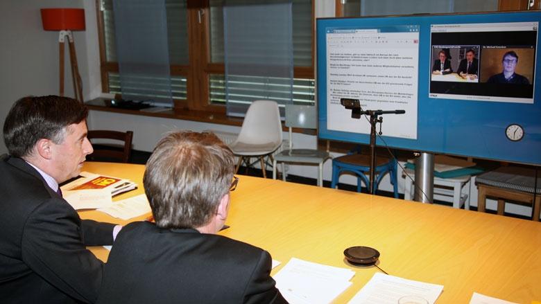 350 Mitglieder der CDU diskutierten mit dem Vizepräsidenten der EVP, David McAllister online