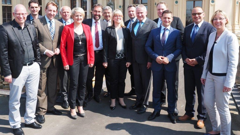 Innenpolitiker der Union in Schwerin