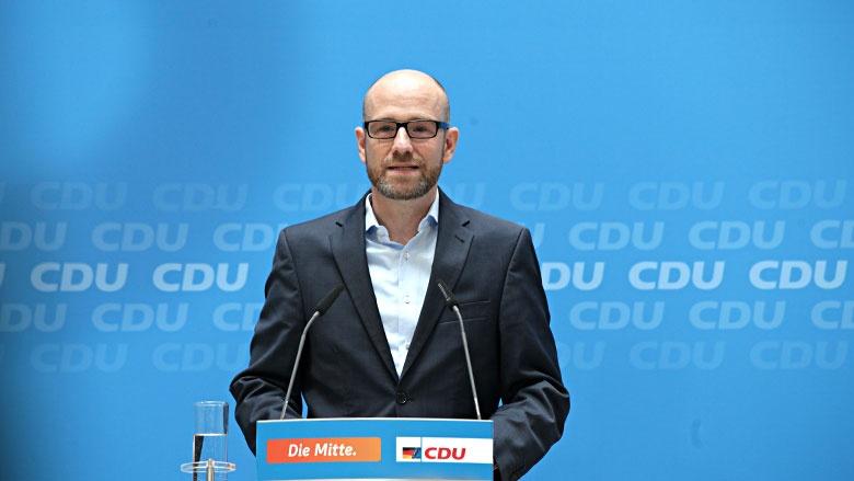 Pressekonferenz mit Peter Tauber