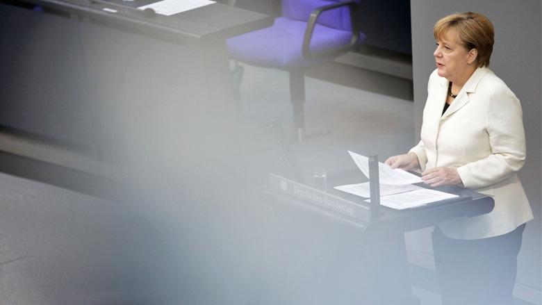 Regierungserklärung von Bundeskanzlerin Angela Merkel