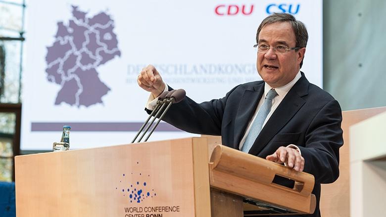 Armin Laschet beim Deutschlandkongress in Bonn