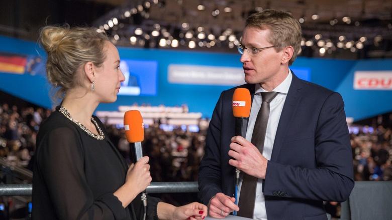 Daniel Günther, Vorsitzender der CDU Schleswig-Holstein