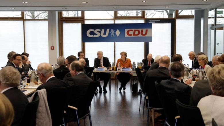 Die Spitzen von CDU und CSU in München