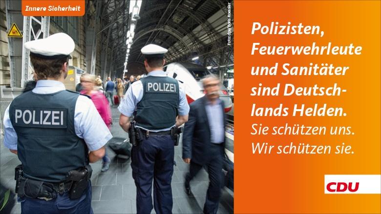 Polizisten besser schützen