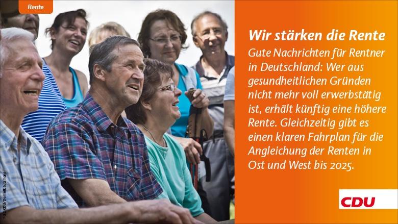 Wir stärken die Rente