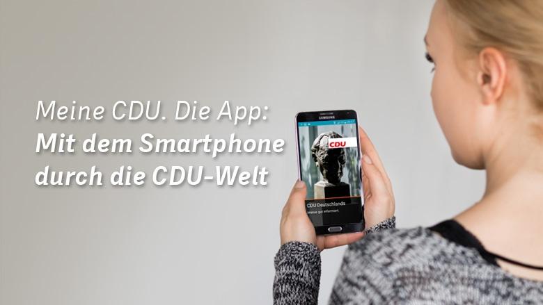 Meine CDU. Die App.