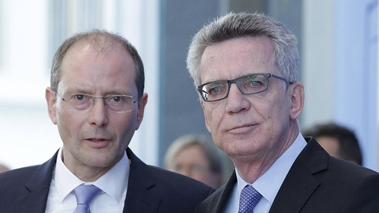 Markus Ulbig und Thomas de Maizière
