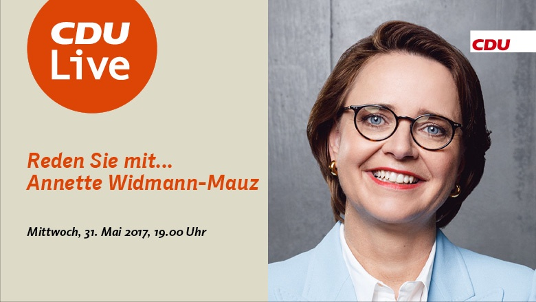 CDU Live mit Annette Widmann-Mauz
