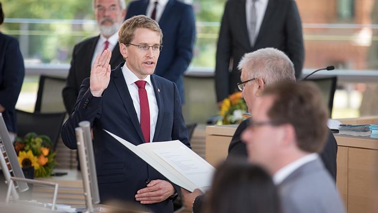 CDU Deutschlands gratuliert Daniel Günther