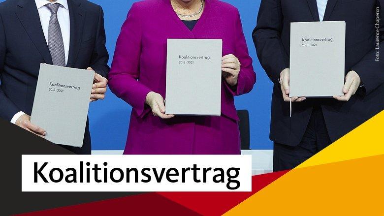 Koalitionsvertrag der CDU, CSU und SPD