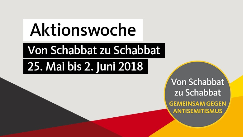 """Aktionswoche """"Von Schabbat zu Schabbat"""""""