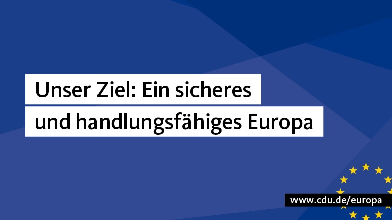 Europa der Sicherheit