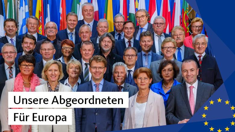Unsere Abgeordneten für Europa