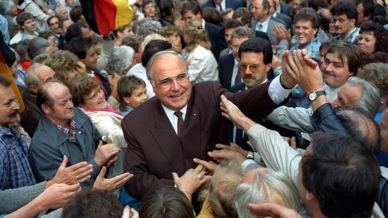 Heimat, Vaterland, Europa   Annegret Kramp Karrenbauer über Helmut Kohl