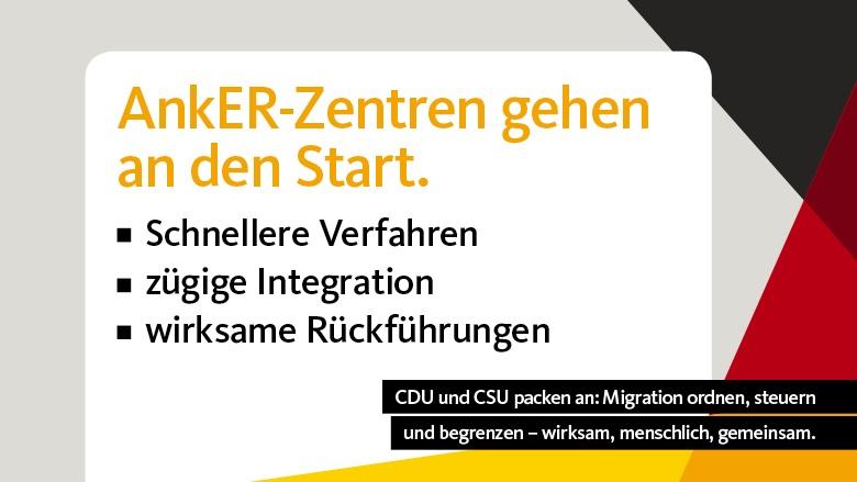 Start für die ersten AnkER-Zentren in Bayern