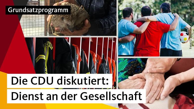 Die CDU diskutiert: Dienst an der Gesellschaft
