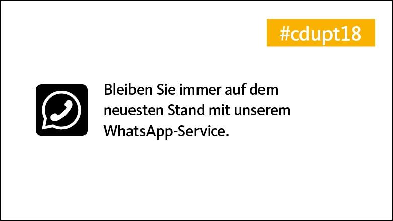 Unser Whatsapp-Service