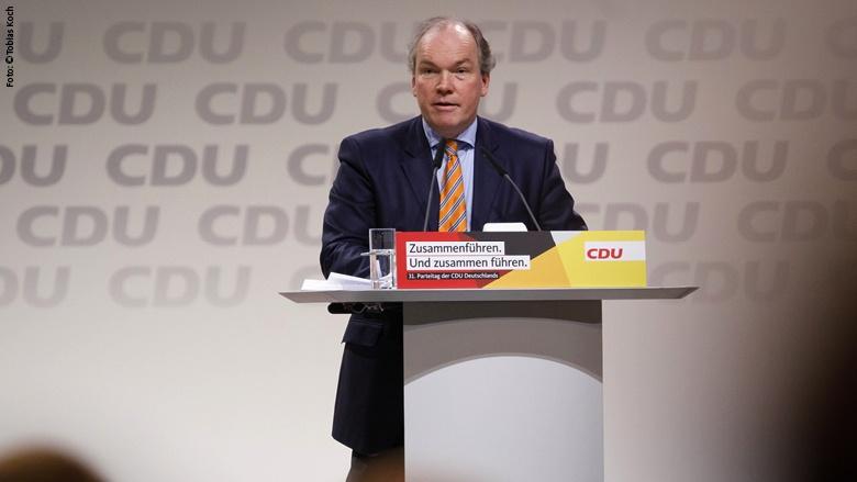 Der Schatzmeister der CDU Deutschlands, Philipp Murmann