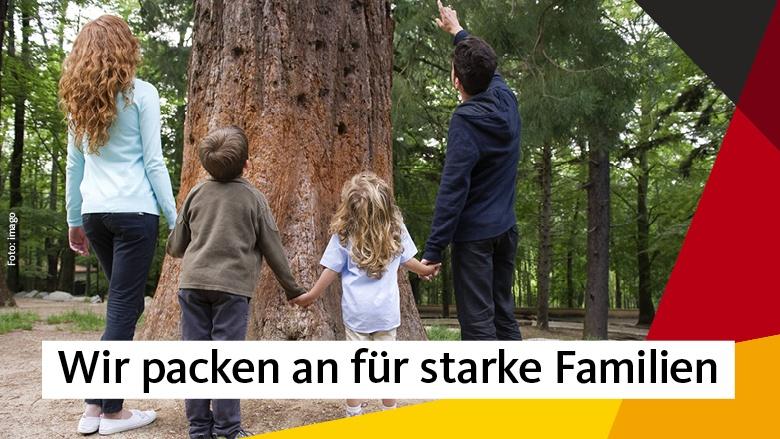 Fesselnd Wir Packen An Für Starke Familien | Christlich Demokratische Union  Deutschlands