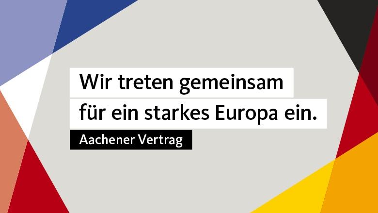 Wir treten gemeinsam für ein starkes Europa ein
