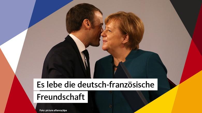 Angela Merkel und Emanuel Macron