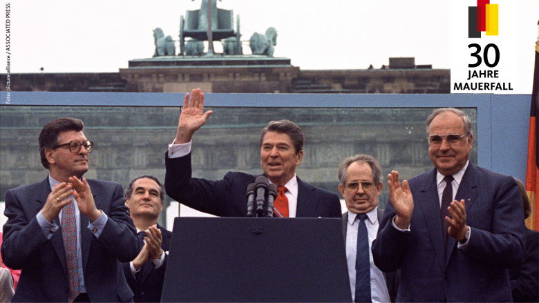 Reagan: Tear down this wall!