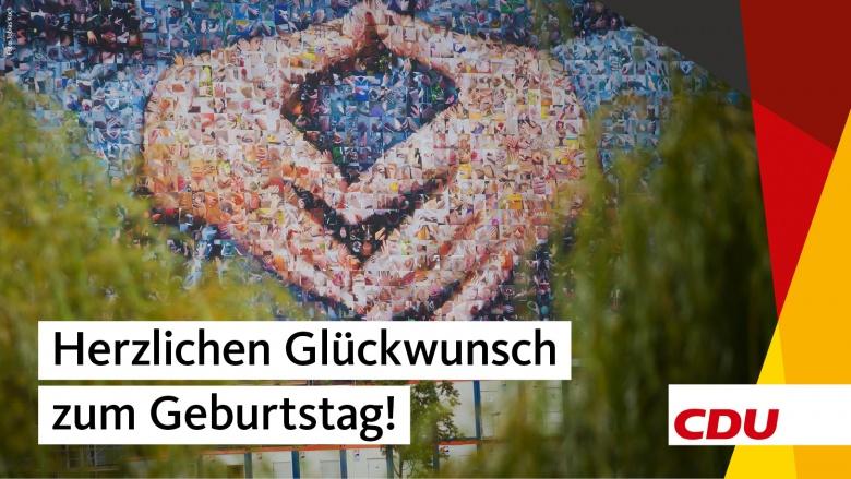 Herzlichen Glückwunsch Angela Merkel