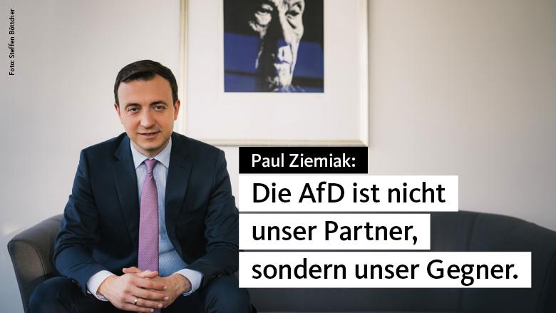 Paul Ziemiak: Die AfD ist die Anti-Deutschland Partei