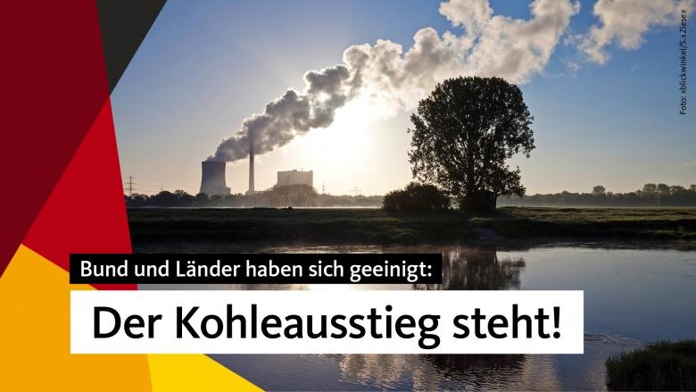 Der Weg aus der Kohle: Einigung zum Kohleausstieg steht
