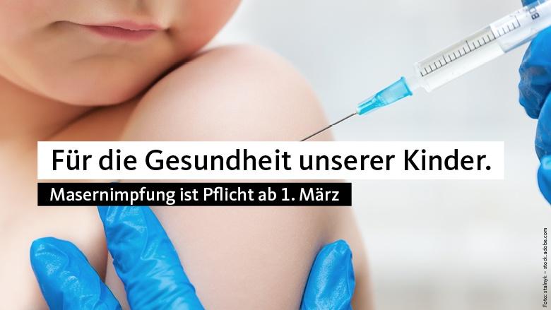 Für die Gesundheit unserer Kinder – konsequent gegen Impf-Verweigerer