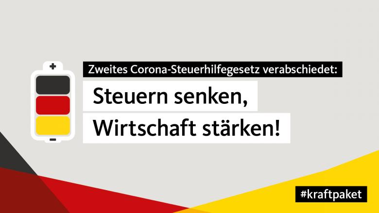 Bundestag beschließt Kraftpaket für Deutschland