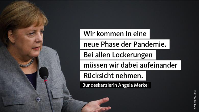 Angela Merkel: Ein Dankeschön an die Gesundheitsämter für sehr gute Arbeit