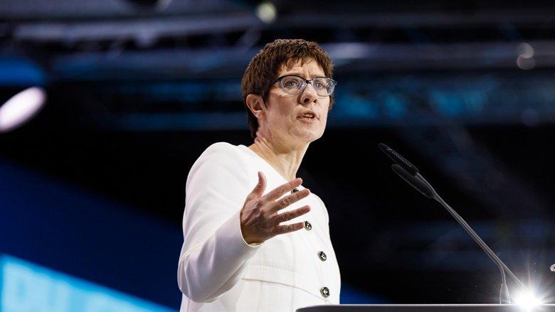 Annegret Kramp-Karrenbauer ist die neue Generalsekretärin der CDU Deutschlands
