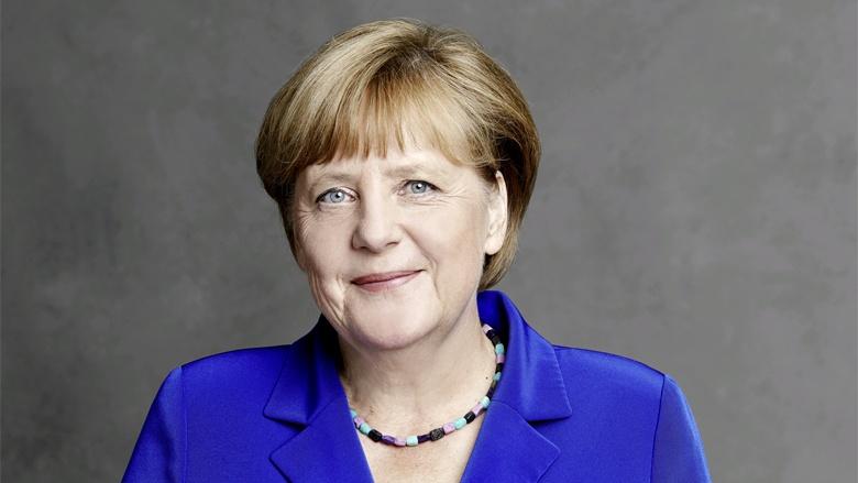 Die CDU-Vorsitzende, Bundeskanzlerin Angela Merkel.